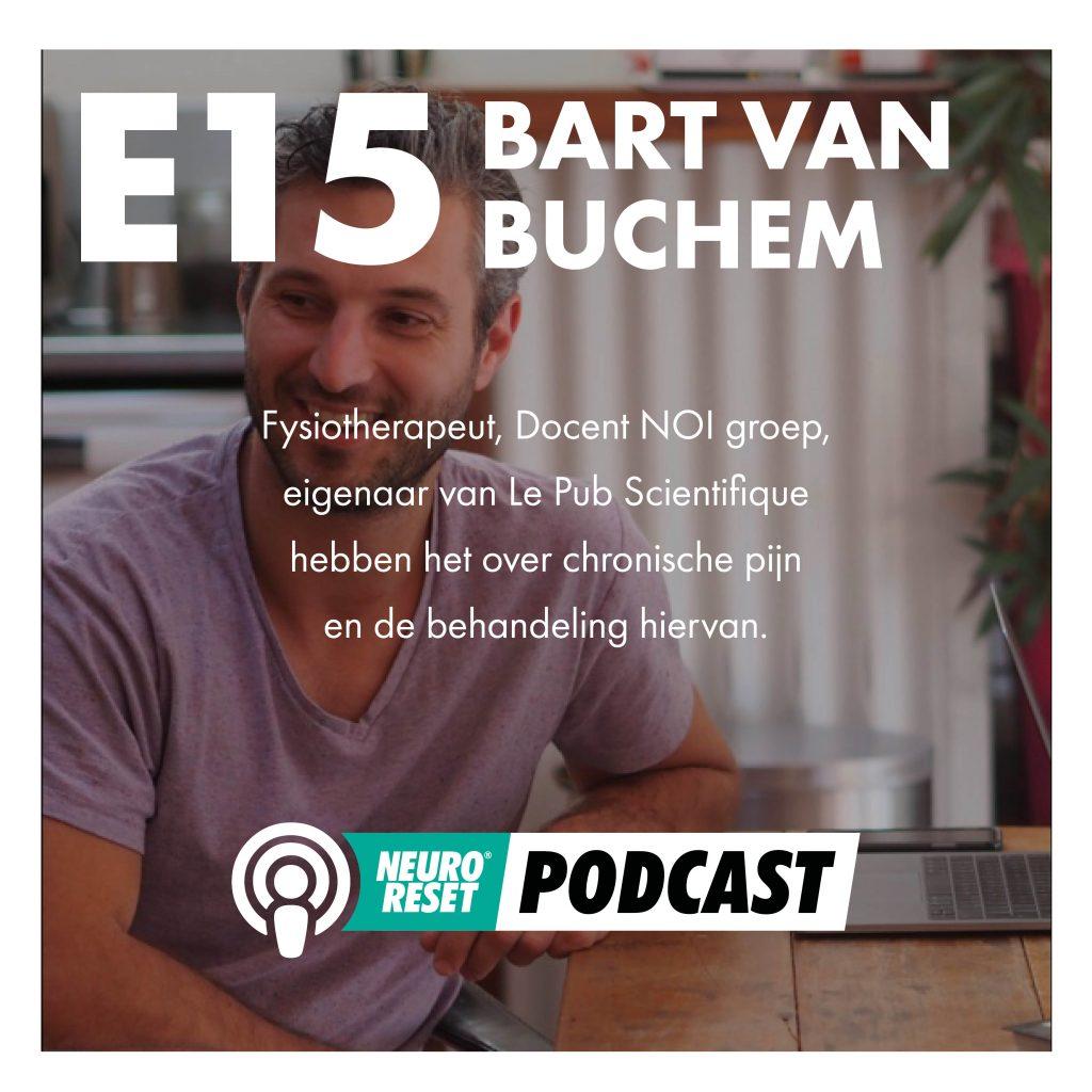 podcast Bart van Buchem over pijn